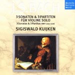 Sigiswald Kuijken (violin, conductor) - J.S. Bach: Sonatas & Partitas For Solo Violin (2000) (Japan Import)