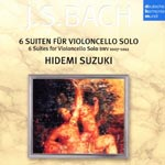 Hidemi Suzuki (cello) - J.S. Bach: 6 Cello Suites (Japan Import)