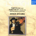 Anner Bylsma (cello) - J.S. Bach: Cello Piccolo - Sonata No.2, Partita No.3 For Solo Violin, Flute Partita (Japan Import)