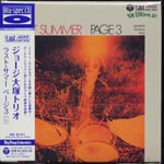 George Otsuka Trio - LAST SUMMER PAGE 3 [Cardboard Sleeve (mini LP)] [Blu-spec CD] (Japan Import)