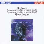 Otmar Suitner (conductor), Staatskapelle Berlin - Beethoven: Symphonies Nos. 2 & 5 (Japan Import)