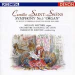 Emmanuel Krivine (conductor), Lyon National Orchestra - Saint-Saens: Symphony No. 3 (Japan Import)