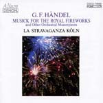 Andrew Manze (conductor), La Stravaganza Koln - Handel: Music for Royal Fireworks, Concertos (Japan Import)
