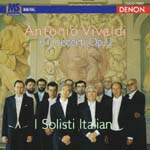 I Solisti Italiani - Vivaldi: Violin Concertos Op.12 (Japan Import)