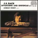 Andras Schiff (piano) - J.S. Bach: Inventions and Sinfonias [Blu-spec CD] (Japan Import)