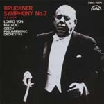 Lovro von Matacic (conductor), Czech Philharmonic Orchestra - Bruckner: Symphony No. 7 [Blu-spec CD] (Japan Import)