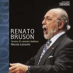Renato Bruson (baritone) - Renato Buruson: An Evening of Italian Songs (Japan Import)