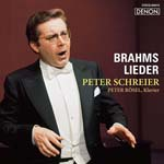 Peter Schreier (tenor) - Brahms: Lieder (Japan Import)