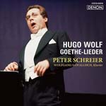 Peter Schreier (tenor) - Wolf: Goethe Lieder (Japan Import)