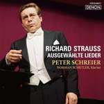 Peter Schreier (tenor) - Strauss: Lieder (Japan Import)