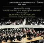 "Kurt Masur (conductor), Leipzig Gewandhaus Orchestra - Mendelssohn: Symphony No.4 ""Italian"" / Mussorgsky: Pictures At An Exhibition (arranged by Gorchakov) DVD (Japan Import)"