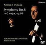 Andre Previn (conductor), Berlin Philharmonic Orchestra - Dvorak: Symphony No.8 DVD (Japan Import)