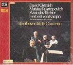 David Oistrakh (violin), Mstislav Rostropovich (cello), Sviatoslav Richter (piano) - Beethoven: Triple Concerto (XRCD24) (Japan Import)