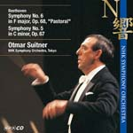 Otmar Suitner (conductor), NHK Symphony Orchestra - Sym, 5, 6, : Suitner Vol.5 Beethoven (Japan Import)