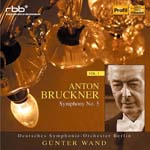Gunter Wand (conductor), Berlin Deutsches Symphony Orchestra - Bruckner: Sym, 5, : G.wand / Berlin Deutsches So (Japan Import)