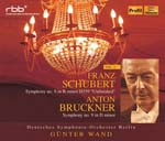 Gunter Wand (conductor), Berlin Deutsches Symphony Orchestra - Bruckner: Sym, 9, : G.wand / Berlin Deutsches So + Schubert: Sym, 8, (Japan Import)