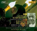 Gunter Wand (conductor), Berlin Deutsches Symphony Orchestra - Brahms: Sym, 1, 4, : G.wand / Berlin Deutsches So + Schumann: Sym, 4, (Japan Import)
