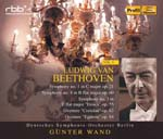 Gunter Wand (conductor), Berlin Deutsches Symphony Orchestra - Beethoven: Sym, 1, 3, 4, : G.wand / Berlin Deutsches So (Japan Import)