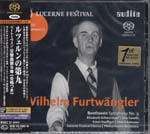 Wilhelm Furtwangler (conductor), Philharmonia Orchestra - Beethoven: Symphony No. 9 [SACD Hybrid] (Japan Import)