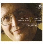 Rene Jacobs (conductor), Freiburg Baroque Orchestra - Mozart: Symphonies Nos. 38 & 41 (Japan Import)
