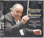 Nello Santi (conductor), NHK Symphony Orchestra, Tokyo - Stravinsky: The Firebird Suite / Beethoven: Symphony No. 5 (Japan Import)