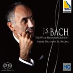 Abdel Rahman El Bacha (piano) - J.S. Bach: Well-Tempered Clavier I [SACD Hybrid] [HQCD] (Japan Import)