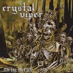 CRYSTAL VIPER - Metal Nation (Japan Import)