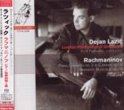 Dejan Lazic (piano), Kirill Petrenko (conductor), London Philharmonic Orchestra - Rachmaninov: Piano Concerto No. 2, Moments Musicaux [SACD Hybrid] (Japan Import)