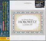 Vladimir Horowitz (piano) - Horowitz at Carnegie Hall: An Historic Return [SACD Hybrid] (Japan Import)