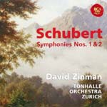 David Zinman (conductor) - Schubert: Symphonies No.1 & No.2 (Japan Import)