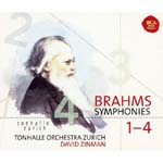David Zinman (conductor) - Brahms: Symphonies 1-4 (Japan Import)