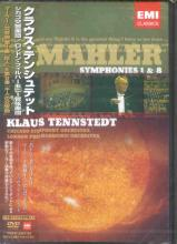Klaus Tennstedt (conductor) - Mahler: Symphonies 1 and 8 DVD (Japan Import)