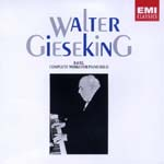 Walter Gieseking (piano) - Ravel: Complete Piano Works (Japan Import)