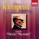 Otto Klemperer (conductor), Philharmonia Orchestra & Chorus - Handel: Messiah (Japan Import)