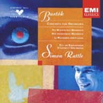 Simon Rattle (conductor) - Bartok: Concerto For Orchestra, etc. (Japan Import)