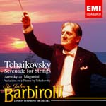 John Barbirolli (conductor), London Symphony Orchestra - Tchaikovsky: Serenade for Strings, etc. (Japan Import)