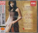 Sarah Chang (Vn) - Strauss: Violin Concerto [Limited Low-priced Edition] (Japan Import)