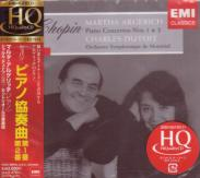 Martha Argerich (piano), Charles Dutoit (conductor), Montreal Symphony Orchestra - Chopin: Piano Concerti Nos. 1 & 2 [HQCD] [Limited Release] (Japan Import)