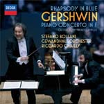 Stefano Bollani (piano), Riccardo Chailly (conductor), Gewandhausorchester - Gershwin: Rhapsody in Blue, etc. (Japan Import)