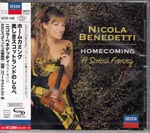 Nicola Benedetti (violin, fiddle) - Homecoming - A Scottish Fantasy [SHM-CD] (Japan Import)