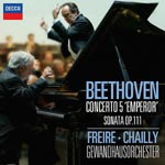 Nelson Freire (Piano), Riccardo Chailly (conductor), Gewandhausorchester - Beethoven: Piano Concerto No. 5, Piano Sonata No. 32 [SHM-CD] (Japan Import)