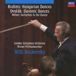 Willi Boskovsky (conductor), London Symphony Orchestra, Wiener Philharmoniker - Brahms: Hungarian Dances / Dvorak: Slavonic Dances (Japan Import)