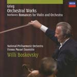 Willi Boskovsky (violin, conductor), National Philharmonic Orchestra, Vienna Mozart Ensemble - Grieg: Orchestral Works / Beethoven: Romances for Violin and Orchestra (Japan Import)