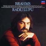 Radu Lupu (piano) - Brahms: Piano Sonata No. 3, Theme & Variations [SHM-CD] (Japan Import)
