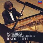 Radu Lupu (piano) - Schubert: Piano Sonatas Nos. 20 & 14 [SHM-CD] (Japan Import)