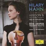 Hilary Hahn (violin), Vasily Petrenko (conductor), Royal Liverpool Philharmonic Orchestra - Tchaikovsky / Higdon: Violin Concertos (Japan Import)