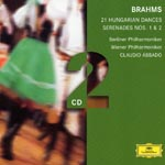 Claudio Abbado (conductor) - Brahms: Serenade No.1 (Japan Import)