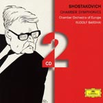 Rudolf Barshai (conductor), Chamber Orchestra Of Europe - Shostakovich: Chamber Symphony Op.110a, Etc (Japan Import)
