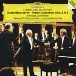 Krystian Zimerman (piano), Leonard Bernstein (conductor), Vienna Philharmonic Orchestra - Beethoven: Piano Concerti Nos. 3 & 4 (Japan Import)