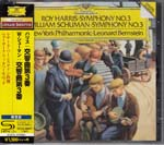 Leonard Bernstein (conductor), New York Philharmonic - Harris/Schuman: Symphony No. 3 [SHM-CD] [Limited Release] (Japan Import)